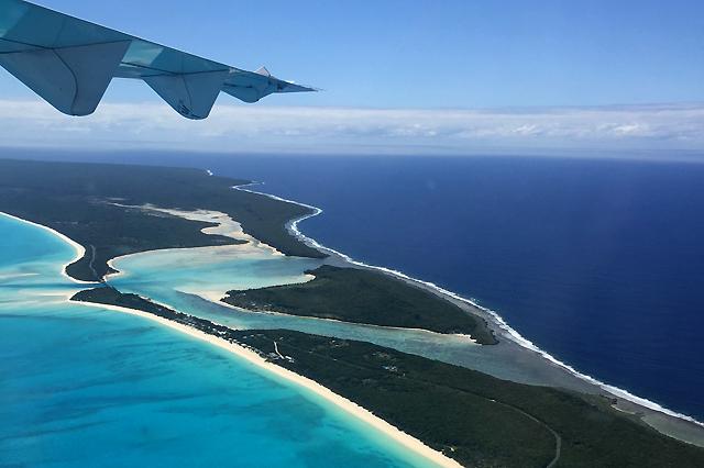 Island hopping in New Caledonia