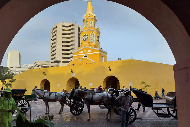 Caressed by the flavours of Cartagena