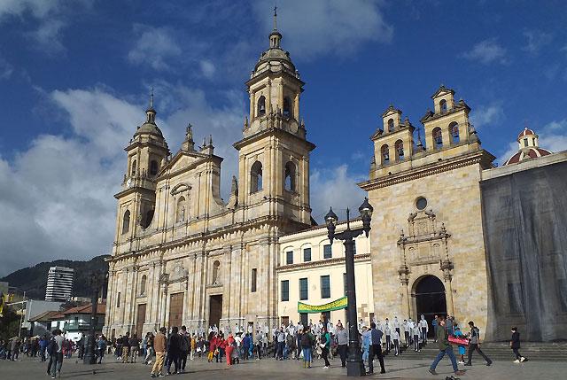 Cultural overload in Bogota
