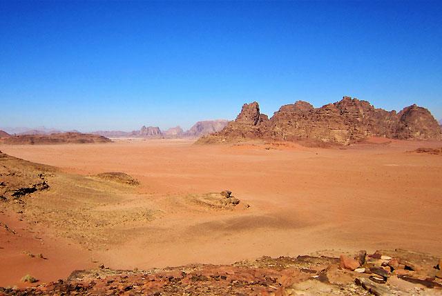 Desert escape to Wadi Rum