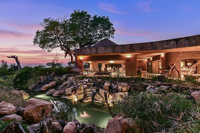 Earth Lodge at Sabi Sabi Game Reserve