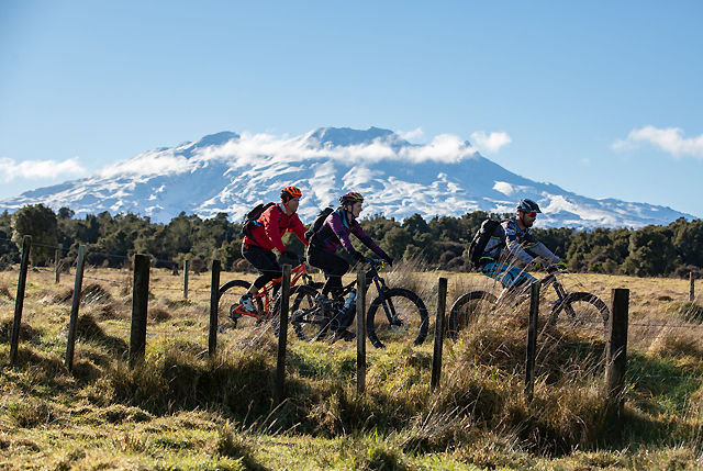 On the roam in the Ruapehu District