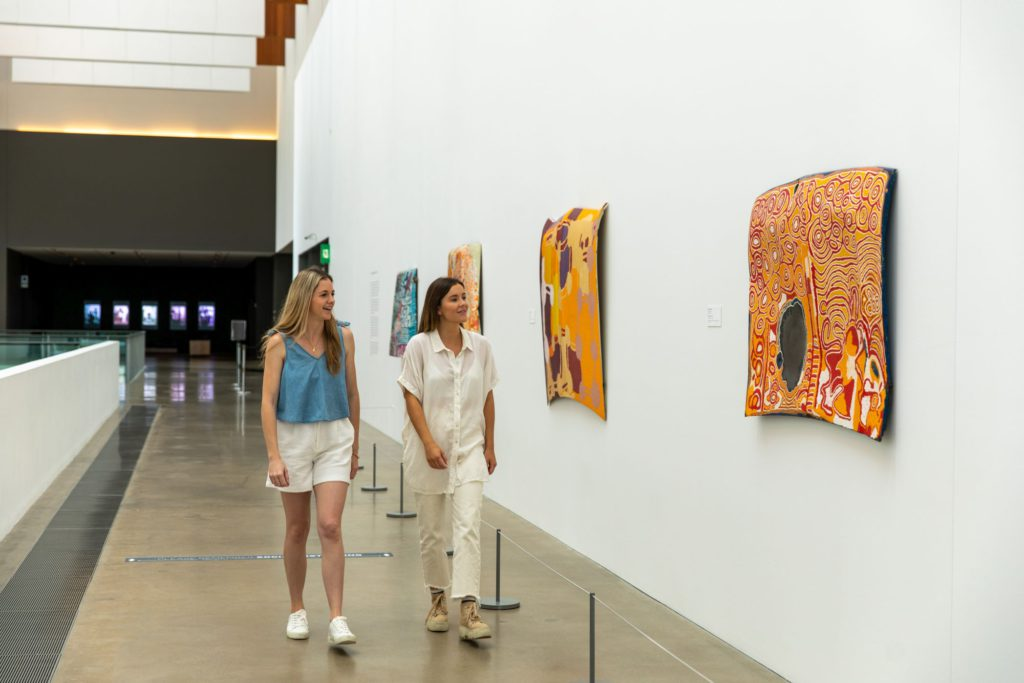 Gallery that forms part of the Queensland Cultural Centre
