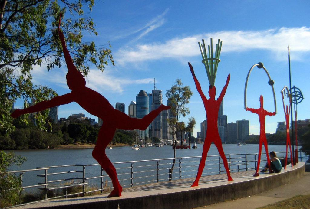 art kangaroo point walk Brisbane