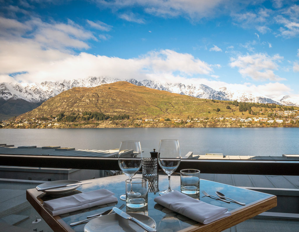 True South Restaurant at The Rees Hotel Queenstown